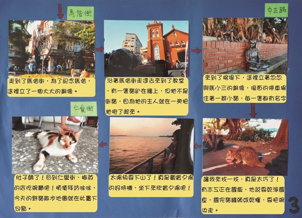 野貓散步地圖 (三)