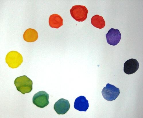 三原色混色練習