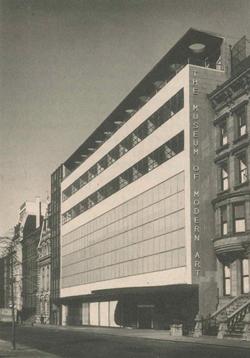 圖片為紐約現代美術館 1930 年左右照片